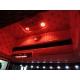 Scania* Tachoeinlage Edelstahl mit LED