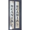 Scania* A-Säule Blende zum Kleben mit Logos und Schriftzug