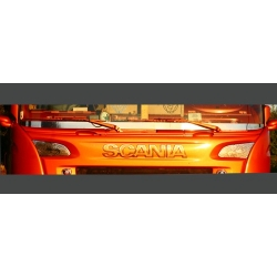 Scania* Scheibenblende mit Logos