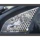 Scania Maske Edelstahl Lüftungsgitter mit Grifin zum Nieten oder Klippsen