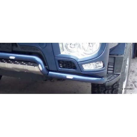 Mercedes Frontbügel Edelstahl 3Teilig Lackiert