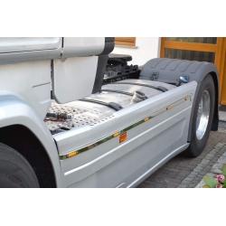 Scania* Seitenverbau LED-Leiste R2 mit 5LED Aufgebaut (Ersatz für Aluleiste) mit/ohne LED, LED-Aufgebaut