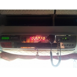 Scania* Tacho-Radio Konsole Applikation