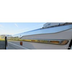 Scania* Seitenverbau LED-Leiste R2 (Ersatz für Aluleiste) mit/ohne LED, LED-Eingebaut