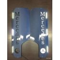 Mercedes* MB4 Spiegel Applikation mit Logo
