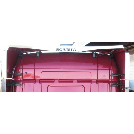 Scania* DachspoilerApplikation mit Schriftzug/ LED