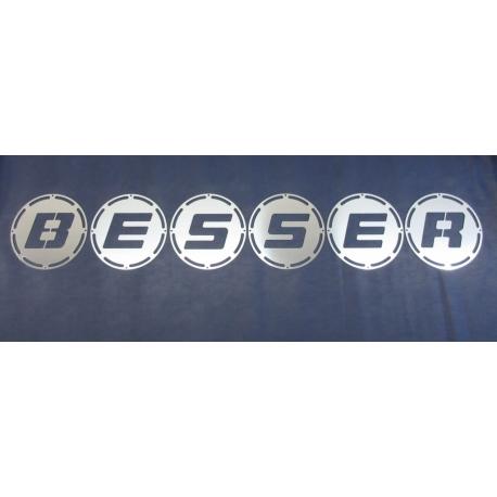 Hella Luminator* Scheinwerfer 6 Abdeckungen BESSER
