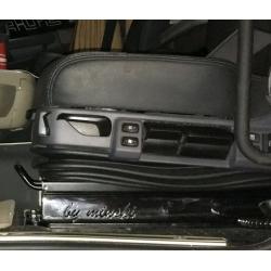 Scania Sitzsockel Mittel 65mm INOX (edelstahl)