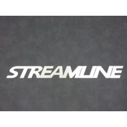 Schriftzug Streamline