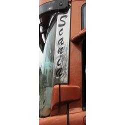 Scania* A-Säule Edelstahlapplikation