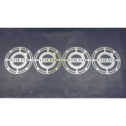 Volvo* Scheinwerfer Abdeckung mit Logos