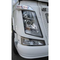 Volvo* FH4 Applikationen für Blinker Edelstahl
