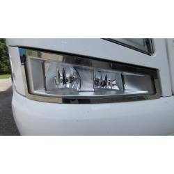 Volvo* FH4 Applikationen für Zusatz-Scheinwerfer Edelstahl