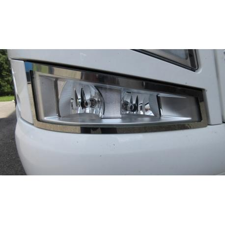 Volvo* FH4 Zusatz-Scheinwerfer Applikation Edelstahl