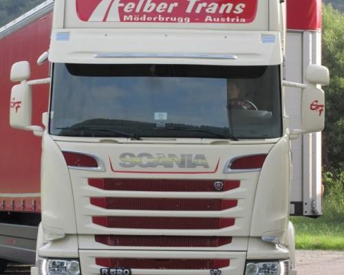 Scania Felber Sonnenblende